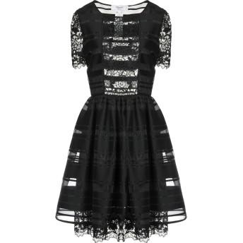 《セール開催中》BLUGIRL BLUMARINE レディース ミニワンピース&ドレス ブラック 42 コットン 80% / ナイロン 14% / ポリエステル 6%