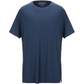 《セール開催中》DEREK ROSE メンズ T シャツ ダークブルー XXL レーヨン 95% / ポリウレタン 5%