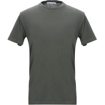 《セール開催中》DANIELE ALESSANDRINI メンズ T シャツ ミリタリーグリーン S コットン 100%