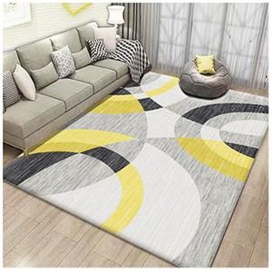 【三房兩廳】北歐簡約時尚水晶絨地毯140x200cm (抽之藝術)