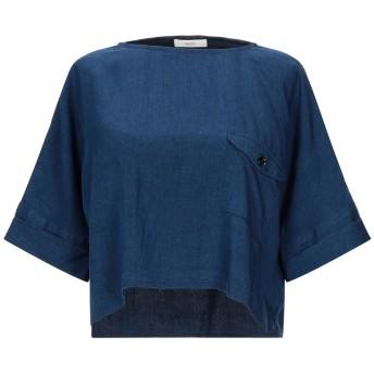 《セール開催中》SESSUN レディース デニムシャツ ブルー M テンセル 60% / レーヨン 40%