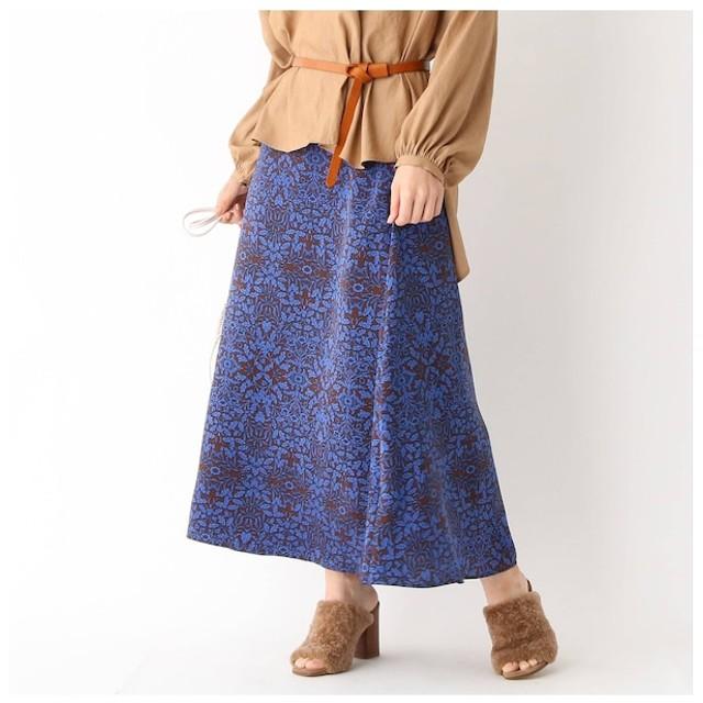 【アクアガール/aquagirl】 サテンフラワーAラインスカート