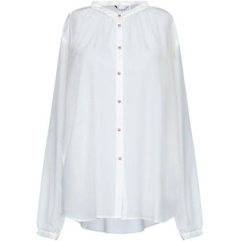 《セール開催中》CALIBAN レディース シャツ ホワイト 42 シルク 100%