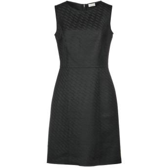 《セール開催中》VALENTINO ROMA レディース ミニワンピース&ドレス ブラック 42 ポリエステル 65% / アセテート 35%