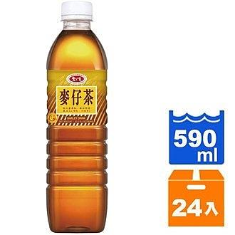 愛之味 麥仔茶 590ml (24入)/箱【康鄰超市】