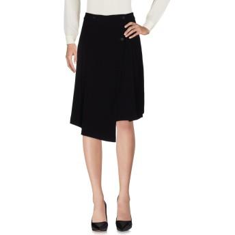 《セール開催中》MARC BY MARC JACOBS レディース ひざ丈スカート ブラック 4 65% トリアセテート 35% ポリエステル