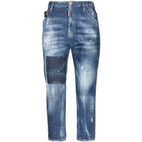 《セール開催中》DSQUARED2 レディース ジーンズ ブルー 38 指定外繊維(紙) 98% / ポリウレタン 2%