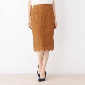 index(インデックス)/【42(LL)WEB限定サイズ】フラワーレーススカート