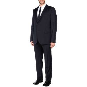 《セール開催中》MANUEL RITZ メンズ スーツ ダークブルー 46 バージンウール 100%