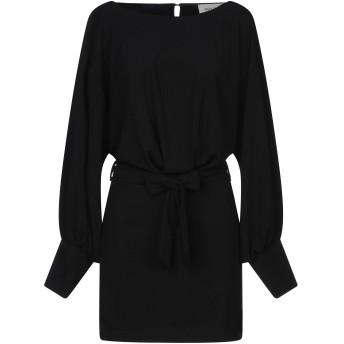 《セール開催中》VICOLO レディース ミニワンピース&ドレス ブラック S ポリエステル 90% / ポリウレタン 10%