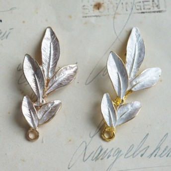 Metal Leaf 4pcs