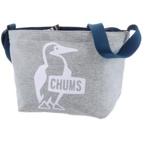 チャムス CHUMS ショルダーバッグ SWEAT スウェット Booby Print Shoulder Sweat ブービープリントショルダー 1.ヘザーグレー
