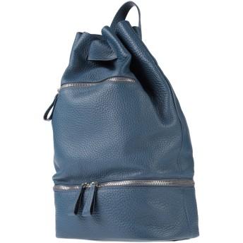 《セール開催中》ORCIANI メンズ バックパック&ヒップバッグ ブルー 革