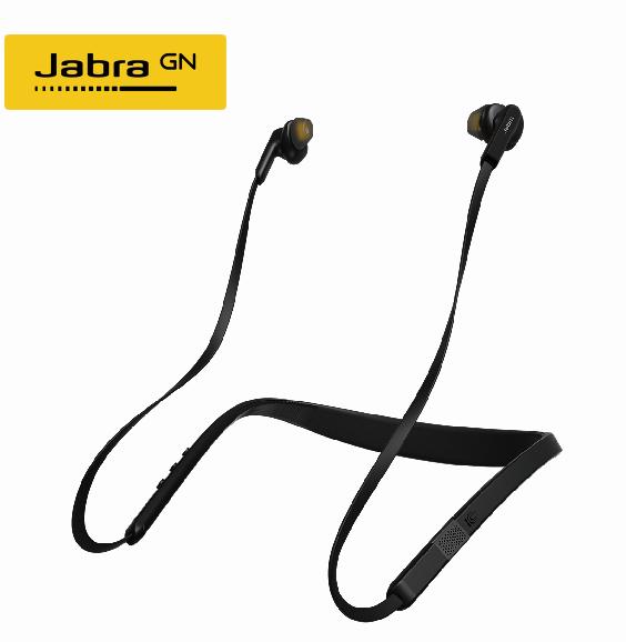 【Jabra】Elite 25e 入耳掛頸式立體聲藍芽耳機(曜石黑)