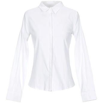 《セール開催中》BLUEFEEL by FRACOMINA レディース シャツ ホワイト L コットン 82% / ナイロン 15% / ポリウレタン 3%