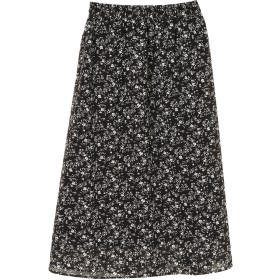 【6,000円(税込)以上のお買物で全国送料無料。】フラワープリントマキシスカート