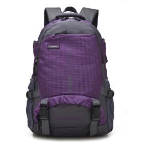 10代の少女のためのバックパックの女性のスクールバッグ女性のラップトップバッグパック旅行バックパックレディース男性紫 29x14x48cm