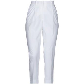 《セール開催中》PESERICO SIGN レディース パンツ ホワイト 40 コットン 96% / ポリウレタン 4%