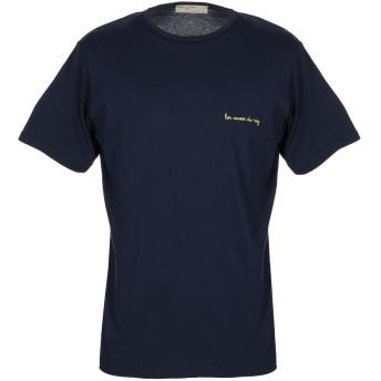 《セール開催中》ATHLETIC VINTAGE メンズ T シャツ ダークブルー L コットン 100%