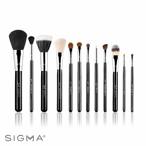 【Sigma】刷具12件組(含刷具筒) Make Me Classy Essential Kit