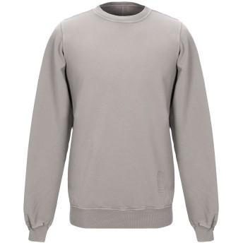 《セール開催中》DRKSHDW by RICK OWENS メンズ スウェットシャツ カーキ XS コットン 100%