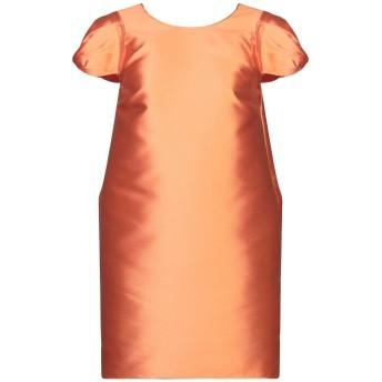 《セール開催中》N°21 レディース ミニワンピース&ドレス あんず色 38 ポリエステル 92% / シルク 8% / アセテート