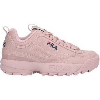 《セール開催中》FILA メンズ スニーカー&テニスシューズ(ローカット) ピンク 41 紡績繊維