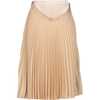 《セール開催中》BURBERRY レディース 7分丈スカート ベージュ 6 ポリエステル 100%