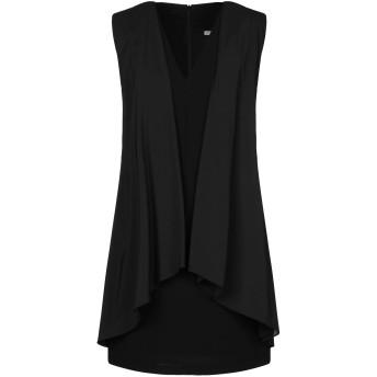 《セール開催中》HOPE COLLECTION レディース ミニワンピース&ドレス ブラック 40 ポリエステル 100% / ポリウレタン