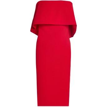 《セール開催中》BADGLEY MISCHKA レディース ミニワンピース&ドレス レッド 2 ポリエステル 98% / ポリウレタン 2%