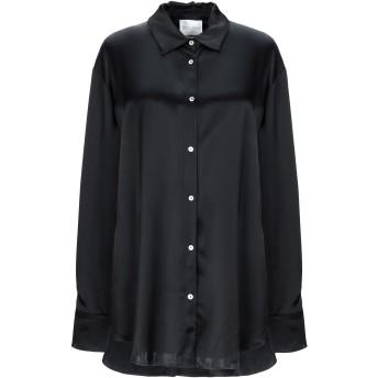 《セール開催中》FORTE_FORTE レディース シャツ ブラック 0 レーヨン 100%