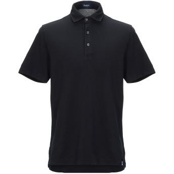 《セール開催中》DRUMOHR メンズ ポロシャツ ブラック XS コットン 100%