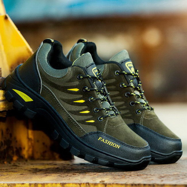 FOFU-運動鞋個性防滑耐磨波紋底戶外登山運動鞋休閒鞋【09S2440】