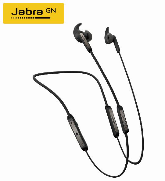 【Jabra】Elite 45e 入耳掛頸式立體聲藍芽耳機(鈦黑色)