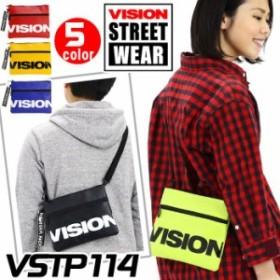 【在庫限りSALE★20%OFF】 VISION STREET WEAR ビジョン ストリートウェア サコッシュ サコッシュバッグ サコッシュショルダー ショルダ