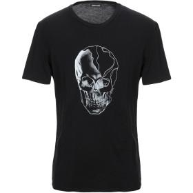 《セール開催中》JUST CAVALLI メンズ T シャツ ブラック XS コットン 100%