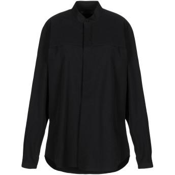 《セール開催中》ZEUSEDERA レディース シャツ ブラック S レーヨン 55% / リネン 45%