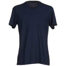 《セール開催中》DRUMOHR メンズ T シャツ ダークブルー XL コットン 100%