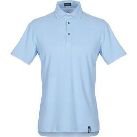 《セール開催中》DRUMOHR メンズ ポロシャツ アジュールブルー S コットン 100%