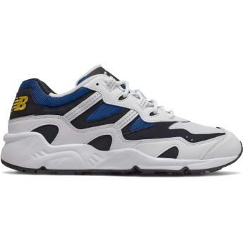 [ニューバランス] 靴・シューズ メンズライフスタイル 850 White with Classic Blue ホワイト クラシック ブルー US 13 (31cm) [並行輸入品]