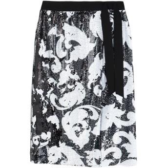 《セール開催中》MARCO BOLOGNA レディース ひざ丈スカート ブラック 46 ポリエステル 100%