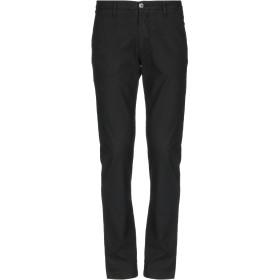 《セール開催中》LIU JO MAN メンズ パンツ ブラック 44 リネン 50% / コットン 48% / ポリウレタン 2%