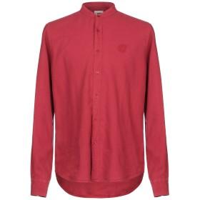《セール開催中》HENRY COTTON'S メンズ シャツ レンガ S 麻 60% / コットン 40%