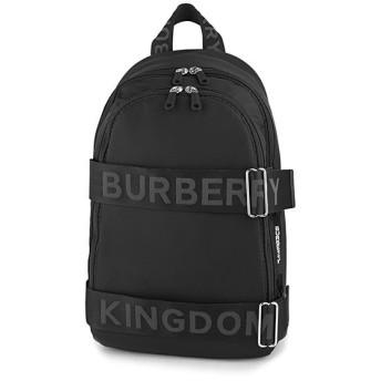 バーバリー(BURBERRY) リュックサック LARGE LOGO DETAIL ナイロン バックパック 8009628 A1189 ブラック 黒