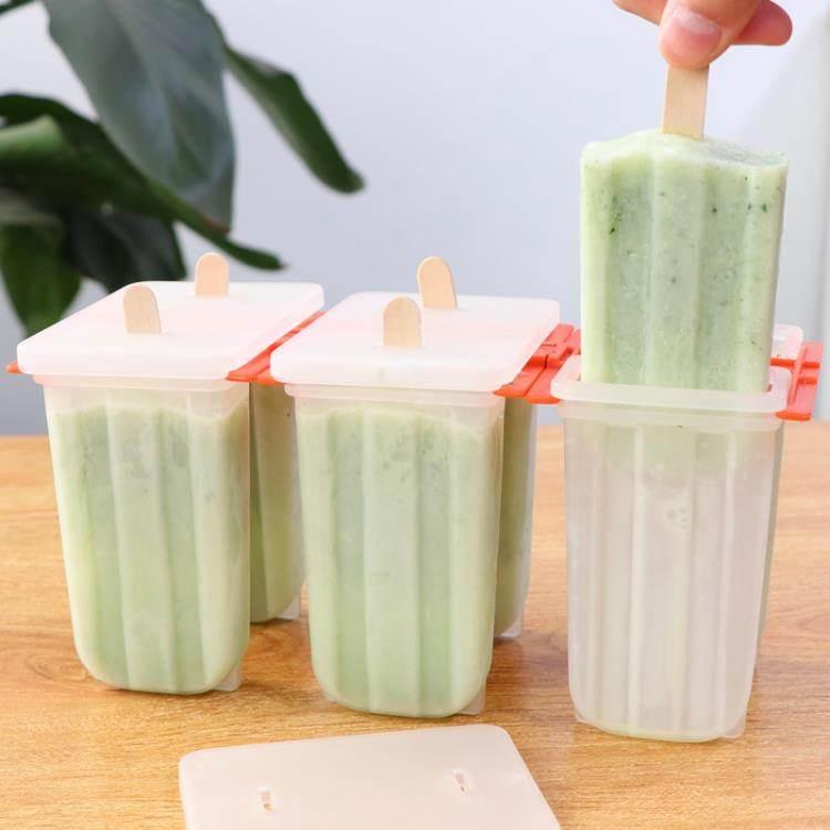 冰塊模具自制雪糕模具經典老冰棍模具無毒家用做冰淇淋的模具套裝送木棒子