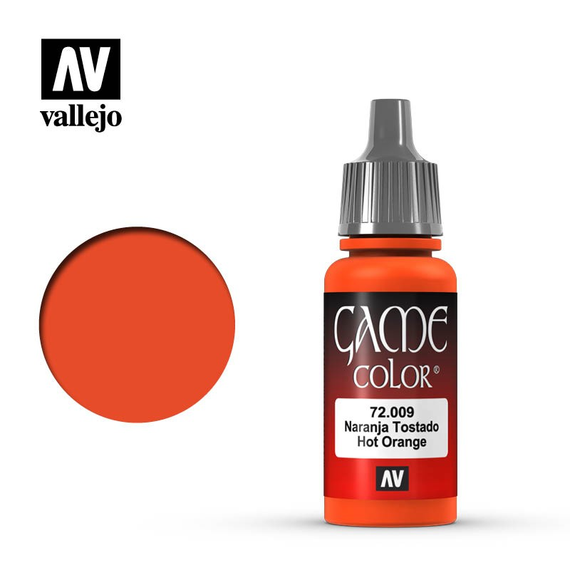 【龍門】Vallejo Game Color AV水漆 Hot Orange 72009