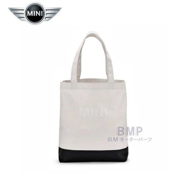 BMW MINI 純正 MINI COLLECTION ショッピング バッグ ホワイト ブラック