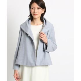 SunaUna(スーナウーナ) 【洗える】ボリュームカラーウールジャケット