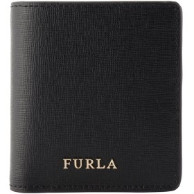 (フルラ) FURLA 二つ折り財布 870999 BABYLON バビロン ブラック レディース 財布 [並行輸入品]
