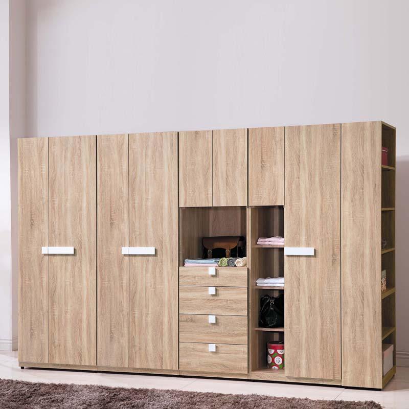 【HA108-05】 多莉絲系統式10.4尺衣櫥